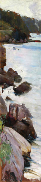 Wall Art - Painting - Sirius Cove - Digital Remastered Edition by Arthur Streeton