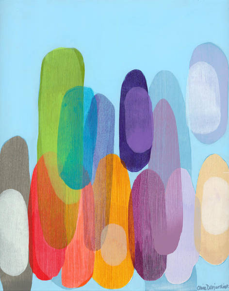 Wall Art - Painting - Sister 01 by Claire Desjardins