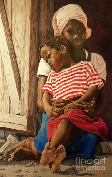 Painting - Sisters And Friends by Nicole Minnis