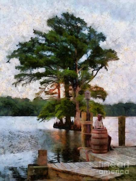 Wall Art - Photograph - Sitting On The Dock By The Bay Nc by Janine Riley