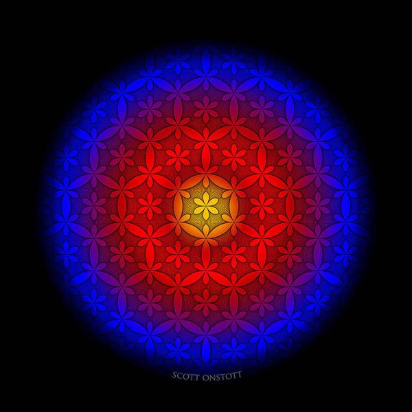 Digital Art - Six Eye by Scott Onstott