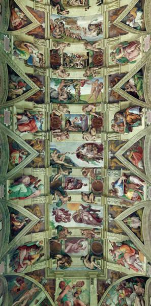 Sistine Wall Art - Photograph - Sixtine Chapel In Vatican City by Luis Davilla