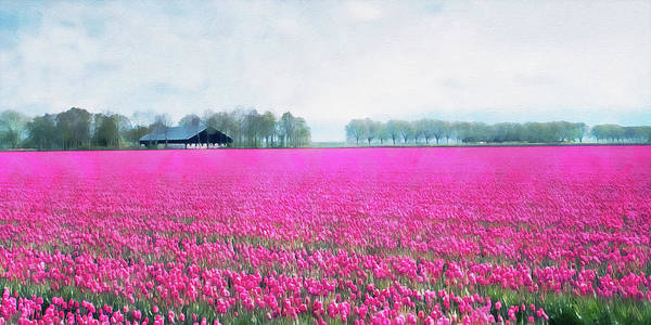Painting - Skagit Valley - 02 by Andrea Mazzocchetti