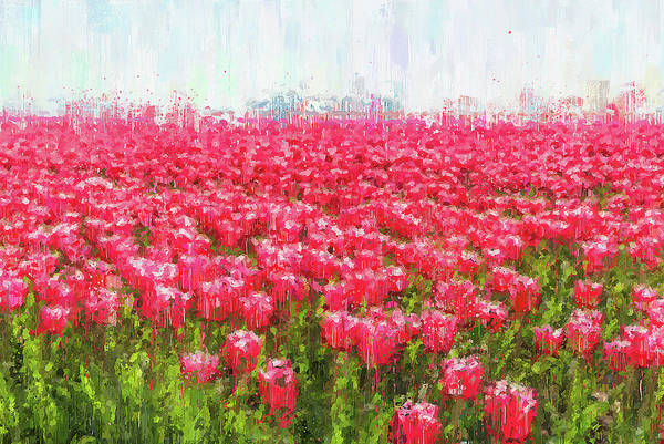 Painting - Skagit Valley - 03 by Andrea Mazzocchetti