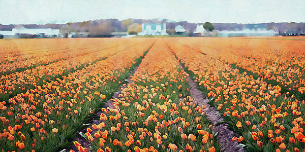 Painting - Skagit Valley - 09 by Andrea Mazzocchetti