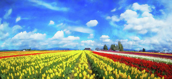 Painting - Skagit Valley - 16 by Andrea Mazzocchetti