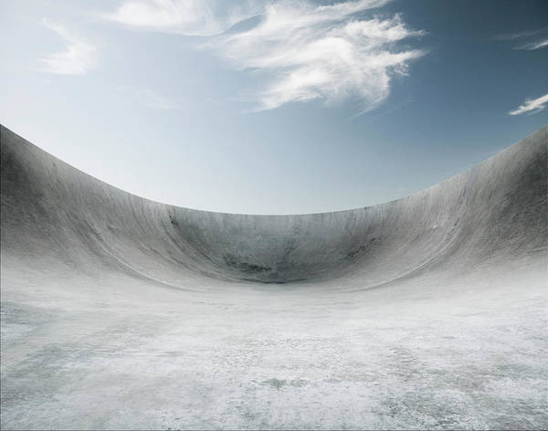 Skateboard Photograph - Skate Bowel Background by Aaron Foster