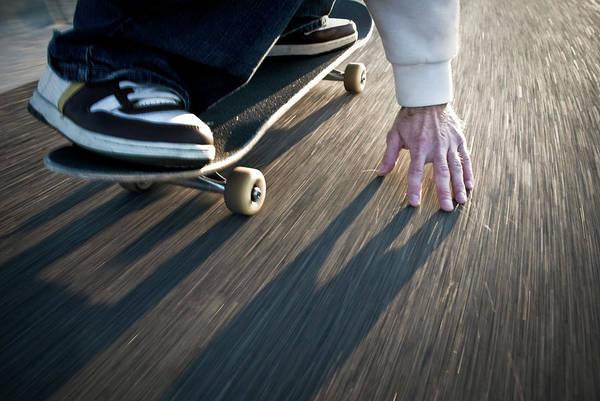 Skateboard Photograph - Skateboarding by Jon Paciaroni