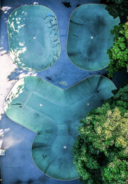 Wall Art - Photograph - Skatepark - Aerial Photography by Nicklas Gustafsson