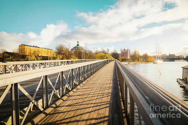 Wall Art - Photograph - Skeppsholmen Bridge In Stockholm by JR Photography