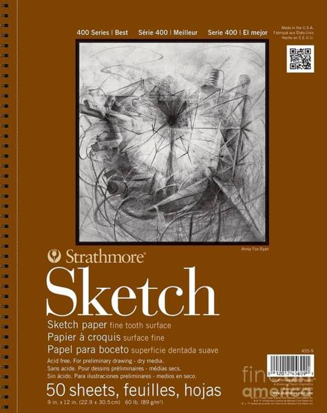 Painting - Sketch Pad by STRATHMORE Artist Papers
