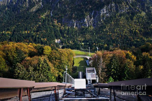 Er Photograph - Ski Jumps In Summer by Er 09