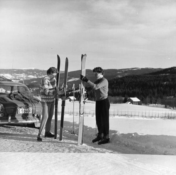 Lillehammer Photograph - Ski Time by George Freston