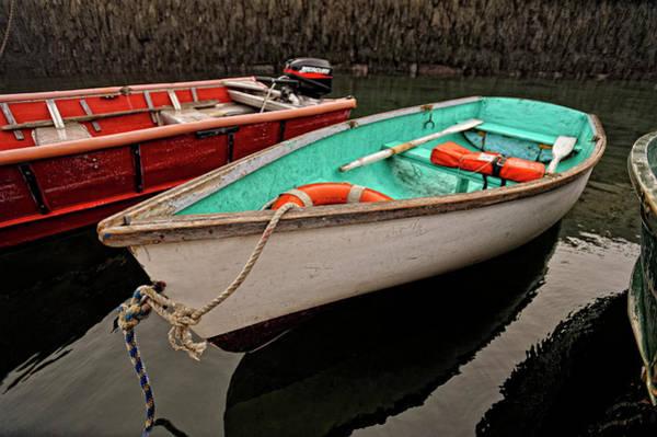 Photograph - Skiffs by Tom Gresham