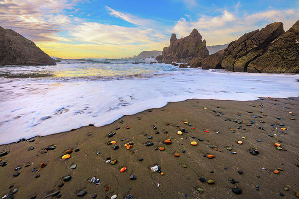 Wall Art - Photograph - Skittles Beach by Darren White