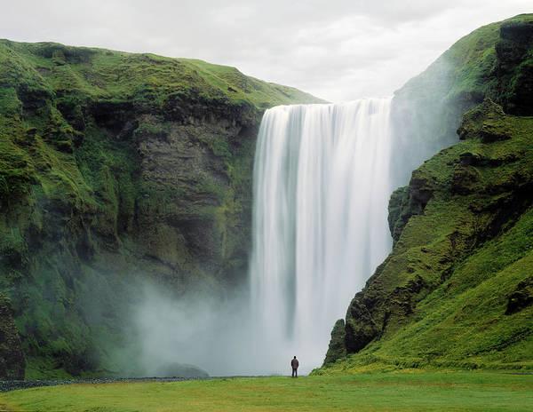 Photograph - Skogafoss Waterfall, Iceland by Ed Freeman