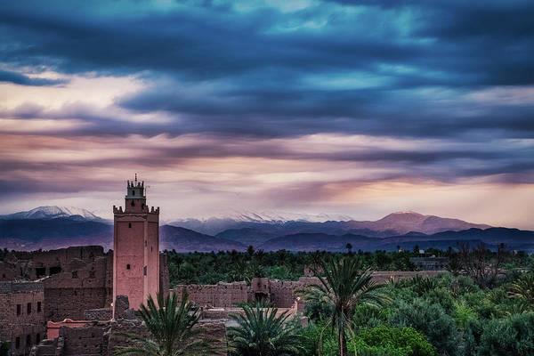 Photograph - Skoura Dawn - Morocco by Stuart Litoff