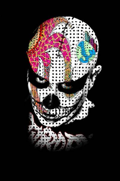 Wall Art - Painting - Skull Man by ArtMarketJapan