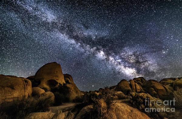 Photograph - Skull Rock Milky Way by Willard Sharp