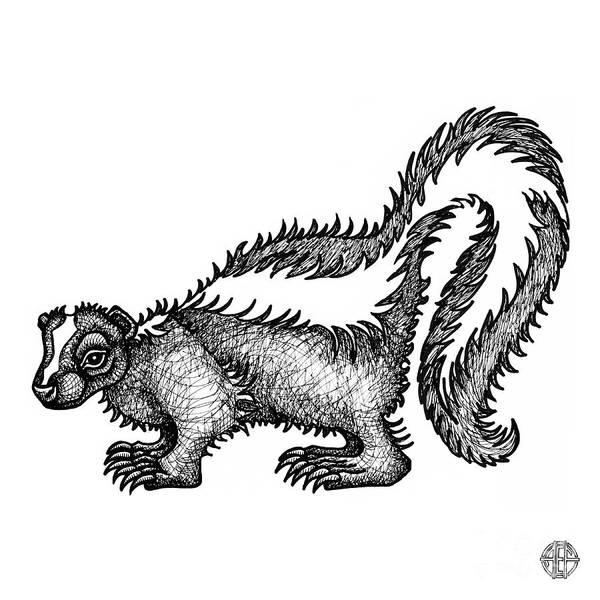 Skunk Art Print