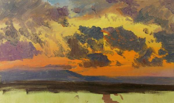Wall Art - Painting - Sky At Sunset, Jamaica, West Indies - Digital Remastered Edition by Frederic Edwin Church