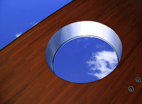 Skylights Wall Art - Photograph - Sky In The Hole by Lisa Stokes