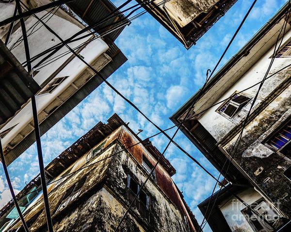 Photograph - Sky Over Stonetown, Zanzibar by Lyl Dil Creations