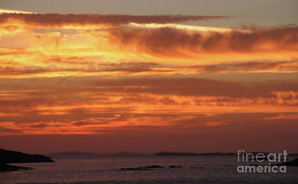 Photograph - Sky Rd Sunset by Peter Skelton