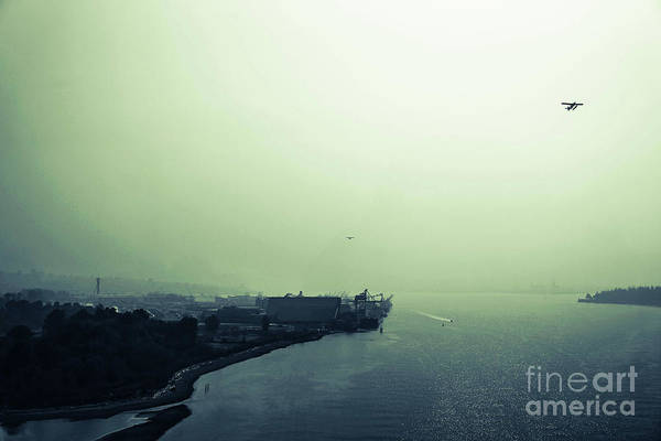 Photograph - Sky Water Land by Fei A