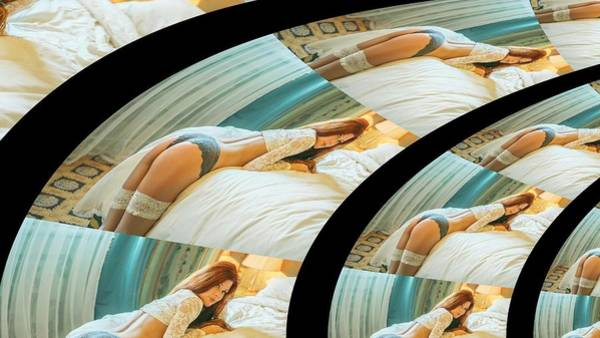 Digital Art - Skyblue Star by Stephane Poirier