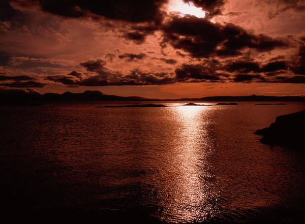 Wall Art - Photograph - Skye, Scotland  Moonlight Over The Water by The Irish Image Collection