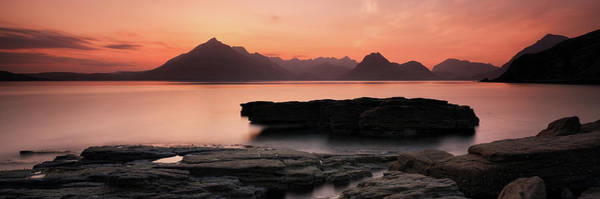 Photograph - Skye Sunset by Grant Glendinning