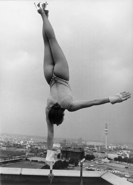 Acrobat Wall Art - Photograph - Skyline Balance by Keystone