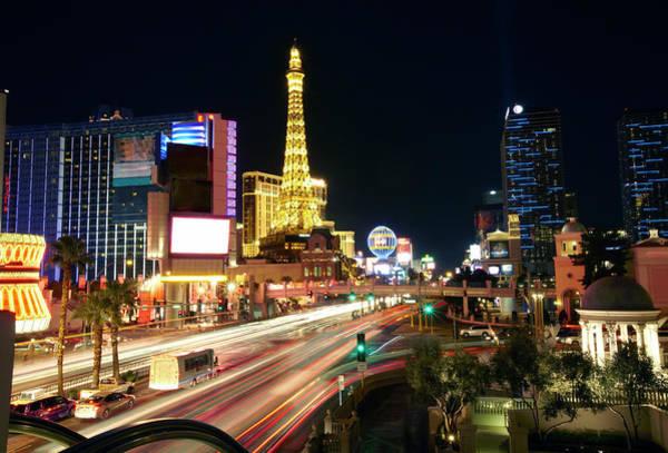 Las Vegas Photograph - Skyline Of Paris Las Vegas by Allan Baxter