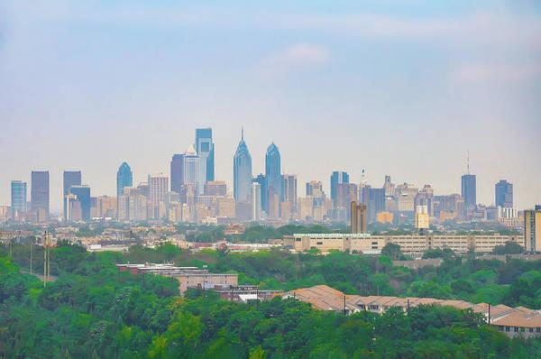 Photograph - Skyline - Philadelphia Cityscape by Bill Cannon