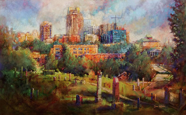 Wall Art - Painting - Skyline Rest by Dan Nelson
