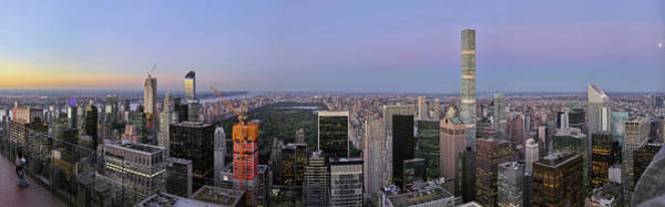Wall Art - Photograph - Skylines From Top Of The Rock by Panoramic Images