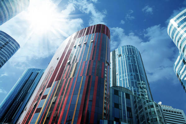 Photograph - Skyscraper In Beijing by Ithinksky