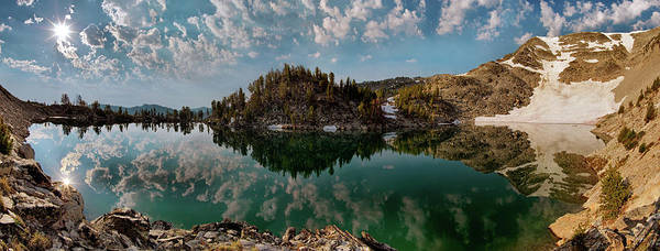 Photograph - Skytop Panoramic by Leland D Howard