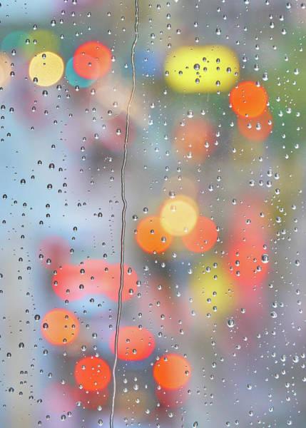 Photograph - Skyway In The Rain  2 by Jim Hughes