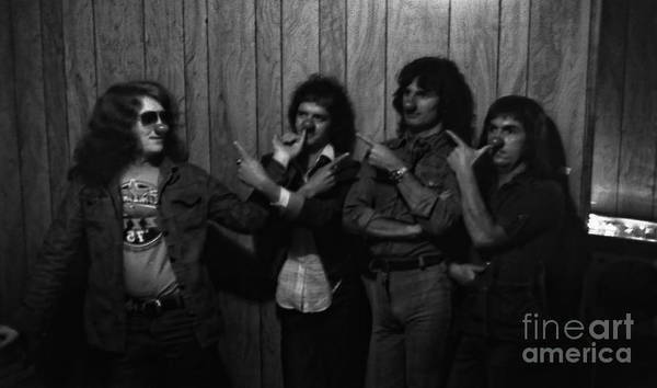 Photograph - Slade At The Starwood - Hollywood - 1976 by Doc Braham