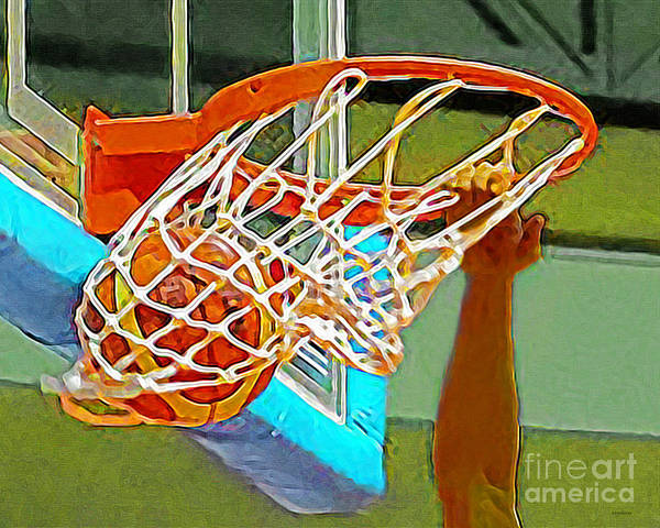 Photograph - Slam Dunk Basketball 20190106 by Wingsdomain Art and Photography