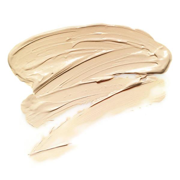 Make Up Photograph - Slapped Cream Foundation On White Back by Yamada Taro