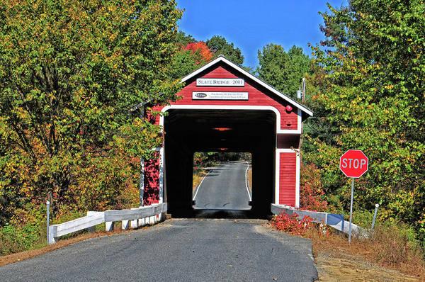 Wall Art - Photograph - Slate Bridge New Hampshire No 4 by Mike Martin