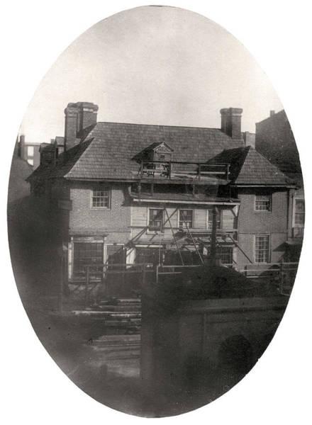 Photograph - Slate Roof House, Philadelphia by Thomas S Hacker