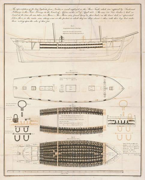 Wall Art - Photograph - Slave Trade Ship Vigilante C. 1823 by Daniel Hagerman
