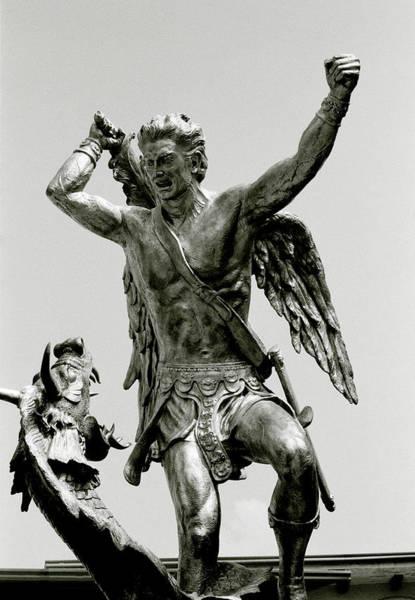 Photograph - Slaying Satan by Shaun Higson