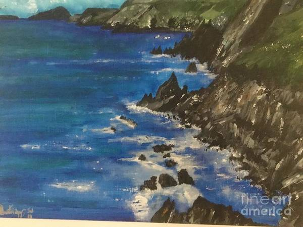 Wall Art - Painting - Slea Head Dingle Penninsula Co Kerry Ireland by Seascapes By Alistair