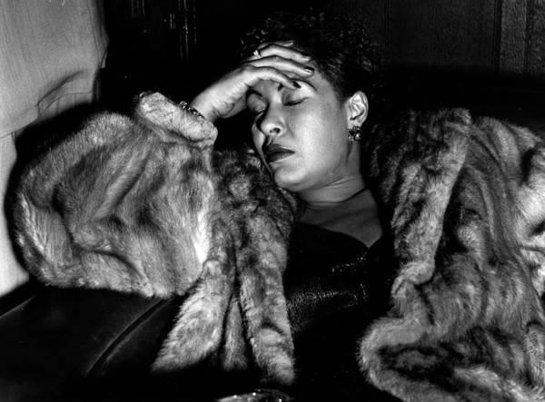 Jazz Music Photograph - Sleeping Billie by Charles Hewitt