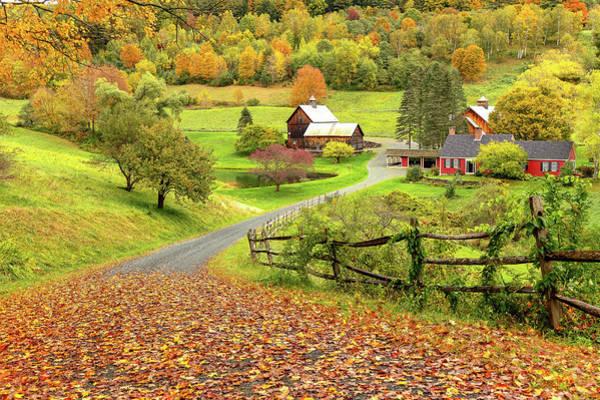 Photograph - Sleepy Hollow Farm In Autumn by Rod Best